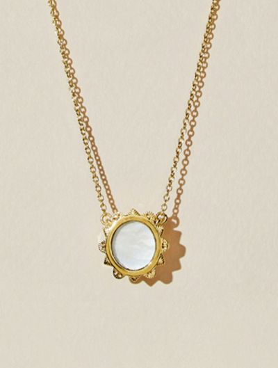Malka Necklace - Mother of Pearl
