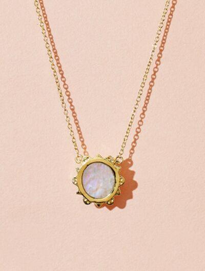 Malka Necklace - Moonstone
