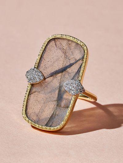 Sangha Ring - Labradorite