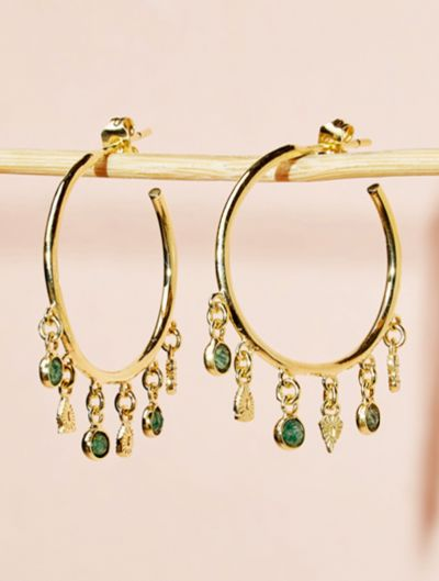 Nati Earrings - Aventurine